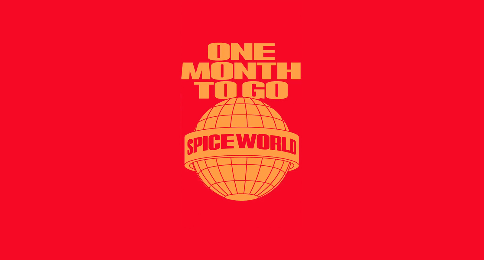 Spice World Tour 2019 - One month to go